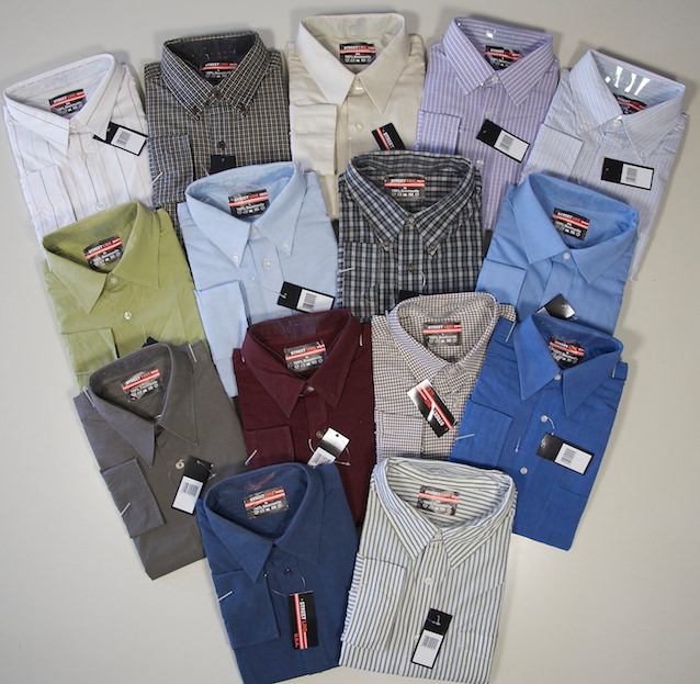 Men`s leisure shirts long sleeved