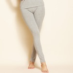 long Ladie`s underpant grey and anthracite thermo