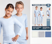 Thermo undershirts long sleeved for kids