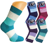 nice soft socks with ringlets in great colours