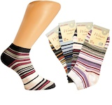 Nice ladies ankle socks with funny dots and stripes