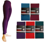 Thermo-Leggings in fashion-colours